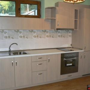 Кухня от ЛПДЧ в цвят избелен дъб