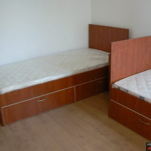 Спалня от ЛПДЧ в цвят калвадос