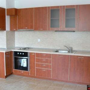 Кухня от ЛПДЧ в цвят калвадос